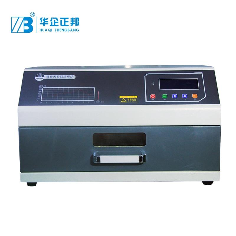 Pantalla electrónica infrarroja reflujo horno SMD LED reflujo máquina de soldadura Mini estación de horno sin plomo