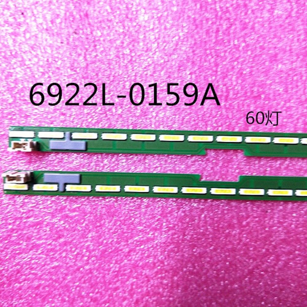 Nuevo 5set = 10 Uds 60LED 602mm tira de LED para iluminación trasera para LG 55UF6450 55UH6150 55UF6430 6916L2318A 6916L2319A 6922L-0159A LC550EGE