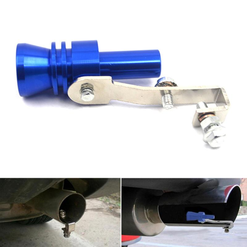 2019 aluminio silbato sonido Turbo manga rodamiento Auto modelo turbina turbocompresor Universal Accesorios