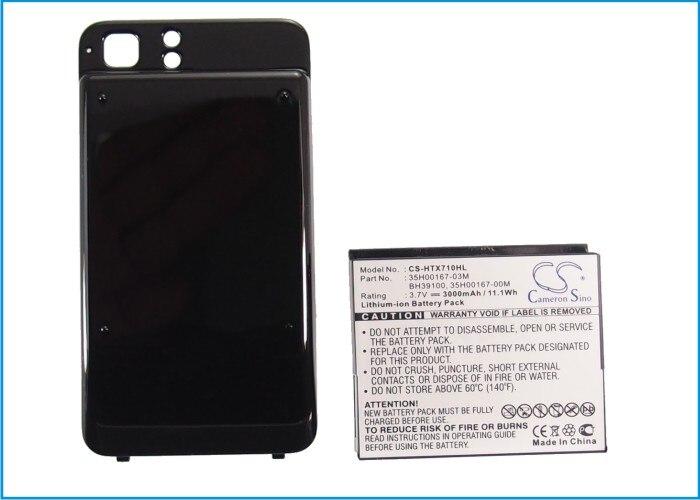 Cameron Sino 3000mAh batería de la batería BH39100 para HTC/Telstra Raider 4G velocidad 4G vívido X710e