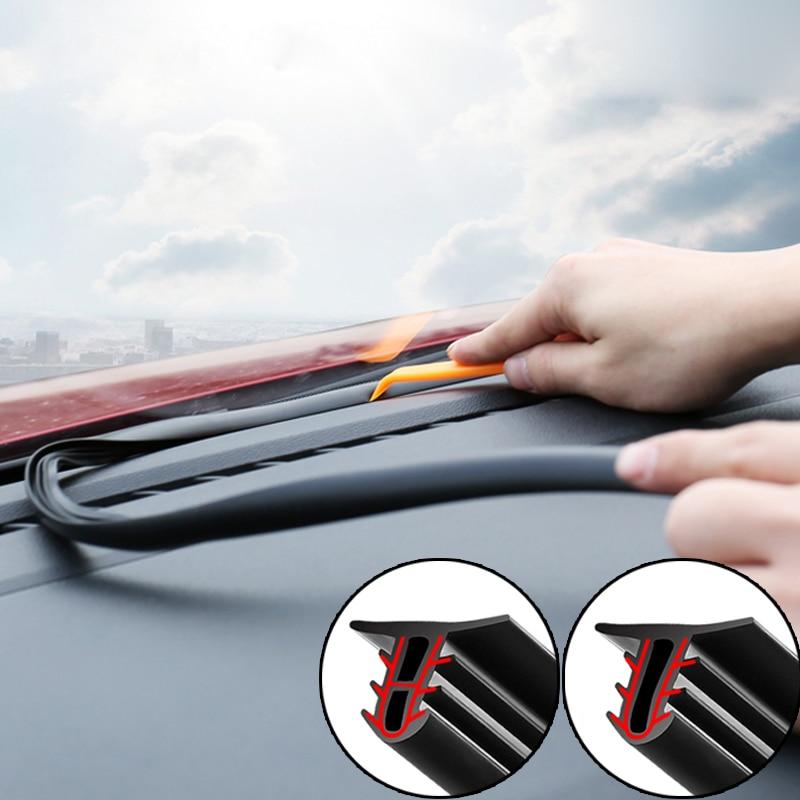Tiras de sellado de bordes de parabrisas para Kia Rio K2 K3 Ceed Sportage 3 sorento cerato reposabrazos picanto soul optima
