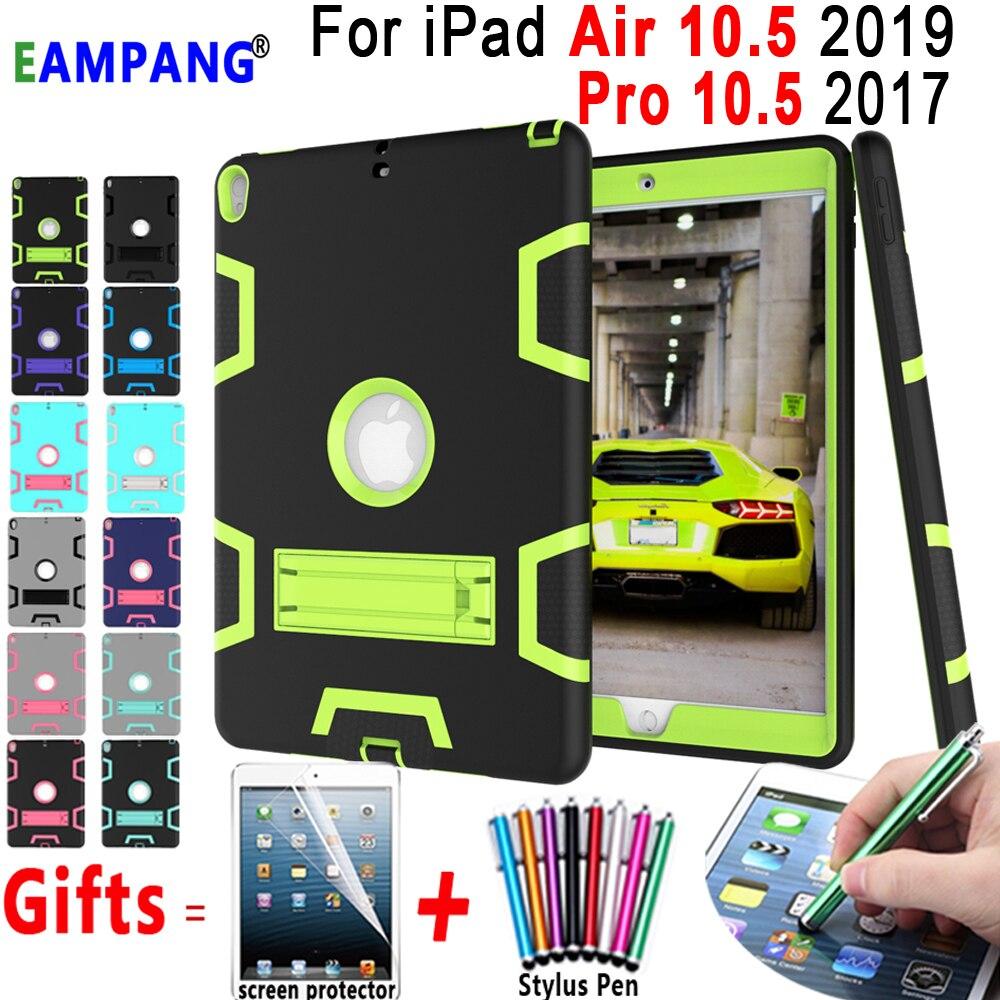 Funda de silicona a prueba de golpes armadura para niños a prueba de golpes para Apple iPad Air 10,5 2019 iPad Pro 10,5 2017 A1701 A1709