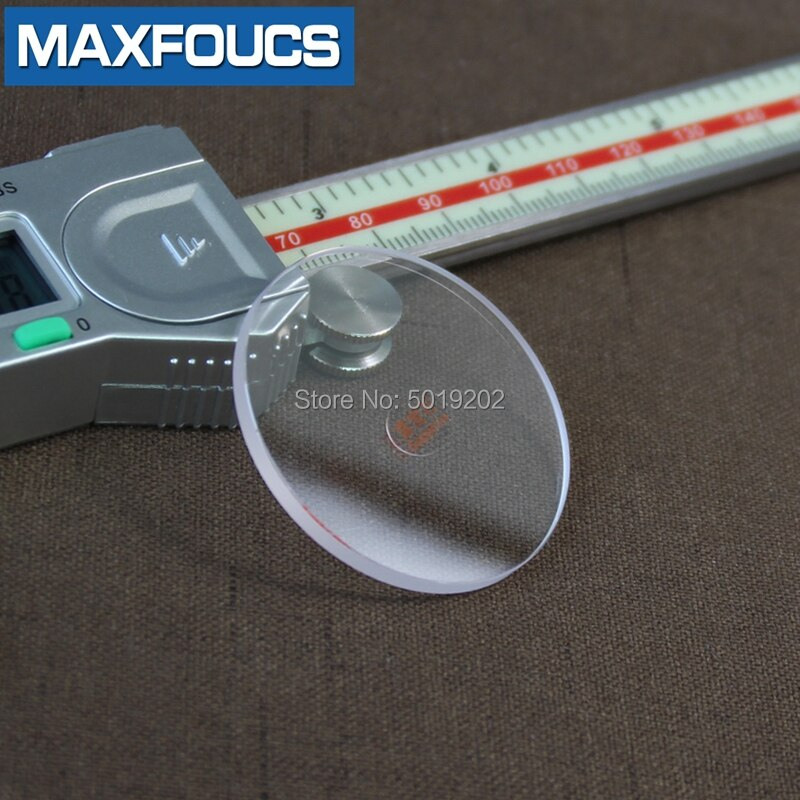 Reloj plano de 2,0mm de espesor de 30mm ~ 39,5mm de diámetro, reloj con cristal de zafiro, piezas de mesa, espejo, cristal transparente redondo para reparación de relojes