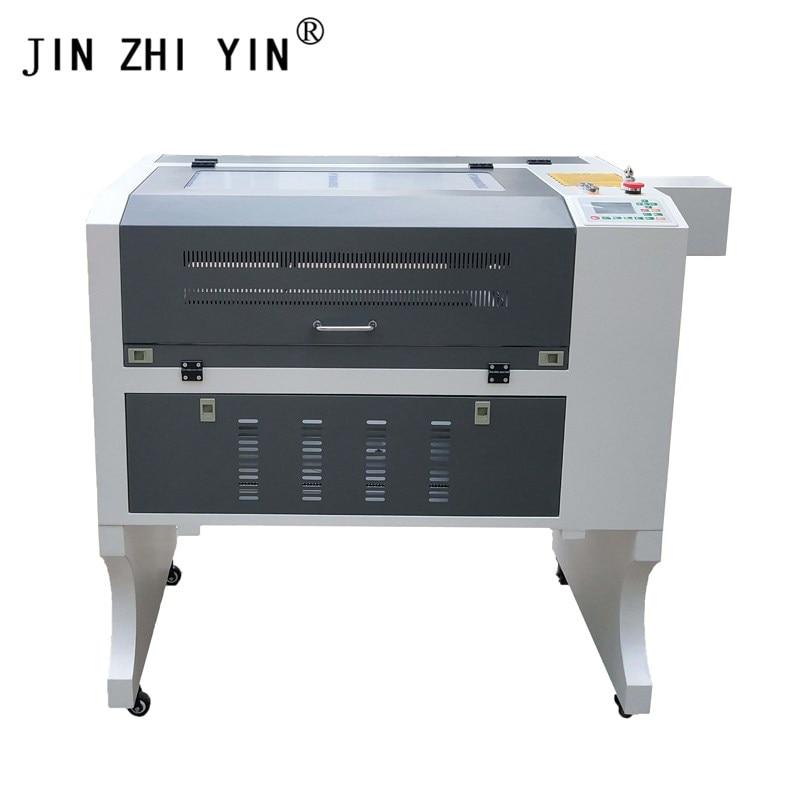 gray white Ruida laser cutting machine 4060 Co2 laser wood engraving machine for cloth