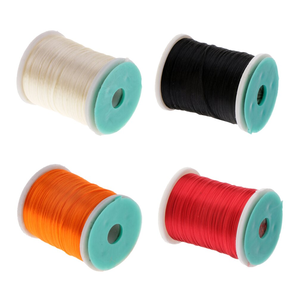 1 bobine mouche attachant fil Flash Tinsel fil bricolage mouche attachant matériaux 250m