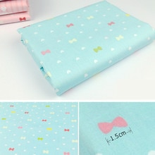 Tissu en coton de série nœud de dessin animé   165104F1 , 50cm x 150cm, fait à la main, tissu en coton, pour la maison, livraison gratuite