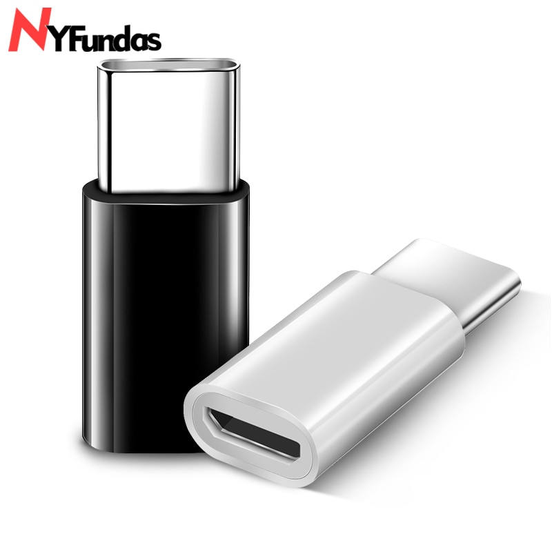 NYFundas Tipo-C a mi cro USB Adaptador Para Oneplus One Plus 6 5 3T 6 zenfone5z Xiao mi mi Max 3 Huawei P20 Pro Tipo C 3.1 Conversor