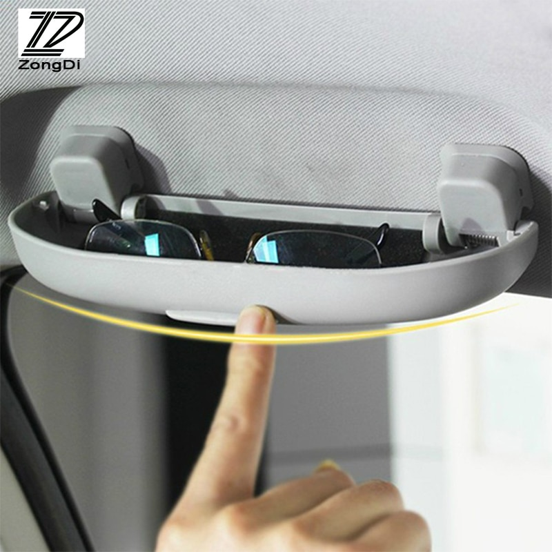 ZD 1Pcs Car Glasses Box Case Holder Car-Styling For Nissan Qashqai X-Trail TIIDA Volvo Subaru XV Forester Impreza Accessories