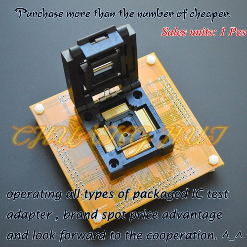 IC51-1764-1995 socket QFP176 TQFP176 ic test socket Pitch=0.4mm