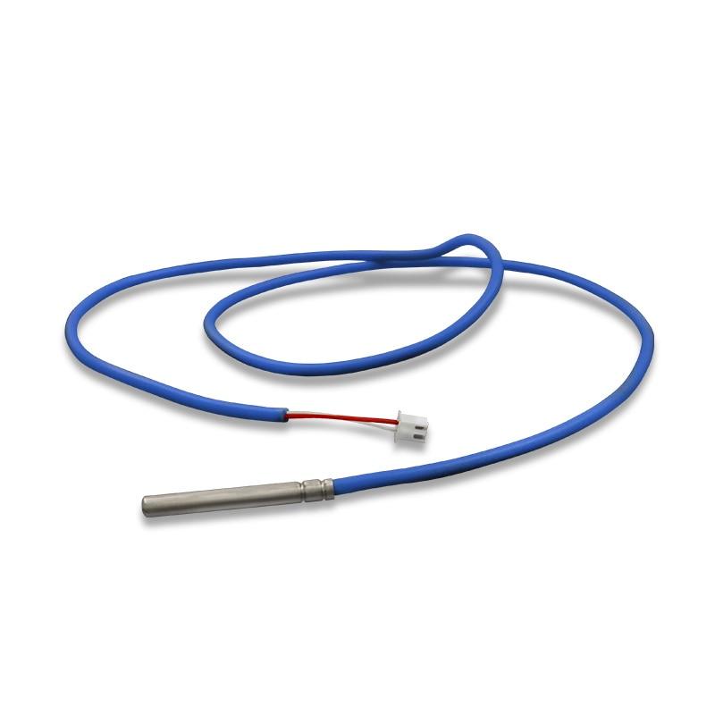 Sensor de temperatura NTC 10k resistente al agua termistor 5K 100K 50K 20K PTC 316L aceite/cable blindado de silicona resistente a la corrosión
