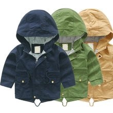 Gabardinas V-TREE para niños, chaquetas con capucha para bebés, para niños pequeños rompevientos, abrigos para niños, Poncho para bebés