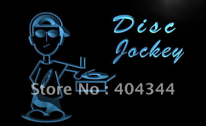 Reproductor de música LB898 Disc Jockey DJ Disco letrero luminoso hogar manualidades decorativas
