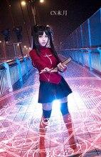 Free Shipping Fate stay night Zero Rin Tohsaka Cosplay Costume Customized