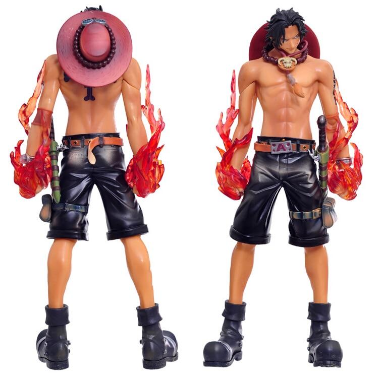 26cm Size Anime One Piece Fire Fist Ace - Portgas D Ace Boxed PVC Action Figure Collection Model Toy