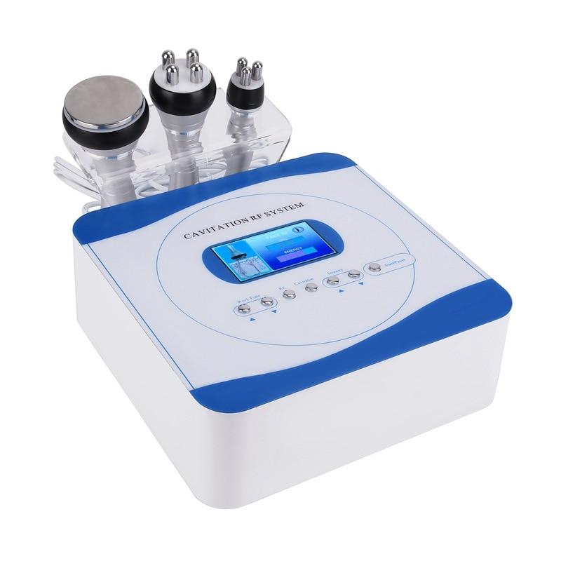 40k Cavitation 3 in 1 Slimming RF Machine Weight Loss Body Spa Salon Negative Pressure Shaping Beauty Instrument Home Us