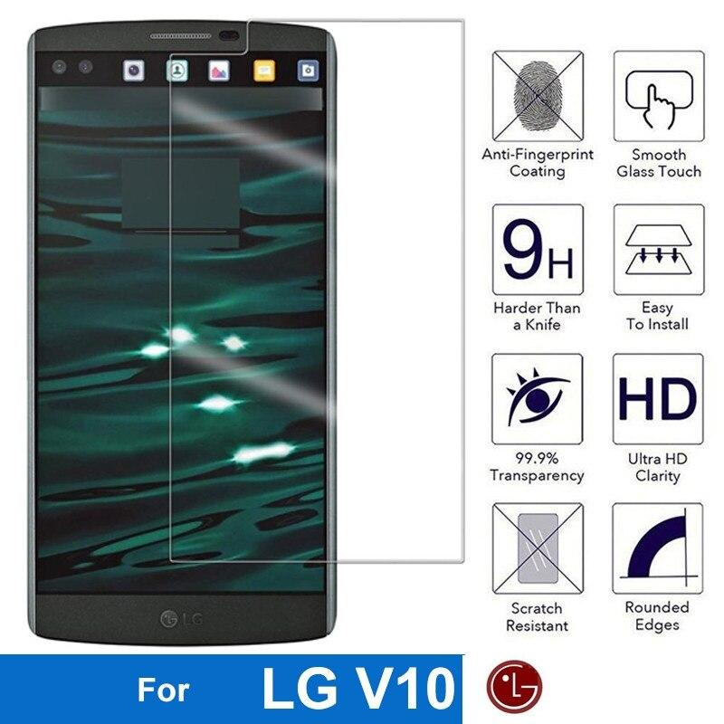 Закаленное стекло для LG V10 V 10 G4 pro F600K F600L F600S H960A H900 H901 VS990 F 600K 600S H 900 901 VS 990, Защитная пленка для экрана