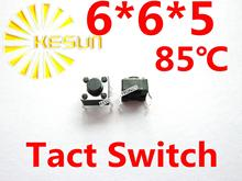Tactile   DIP 6X6X5, bouton Tactile Tact, Micro-interrupteur, momentané 1000 pièces