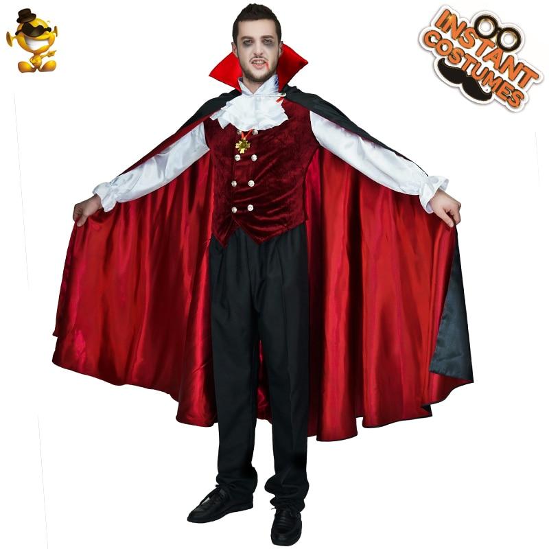 Disfraces de vampiro gótico para hombre, disfraz de vampiro europeo para adultos, disfraz para Halloween, Carnaval, fiesta, disfraces de juego de rol