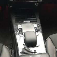 Pegatinas de plástico de la cubierta del Panel de la consola para Mercedes Benz A CLA clase W177 C118 A180 A200 A220 CLA200 accesorios de estilo de coche