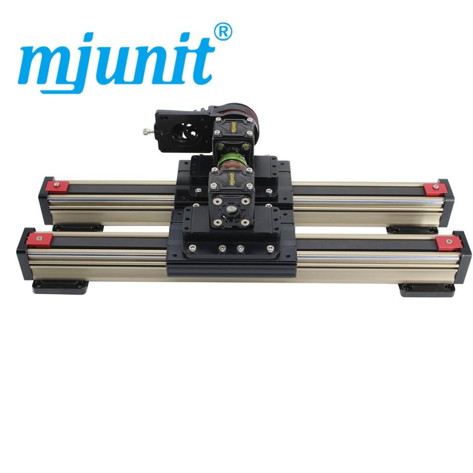 Mjunit-دليل الحزام المتزامن ، 45 متر ، التشغيل الآلي ، CNC ، طاولة الانزلاق ، الوحدة الخطية ، محور واحد ، التخصيص