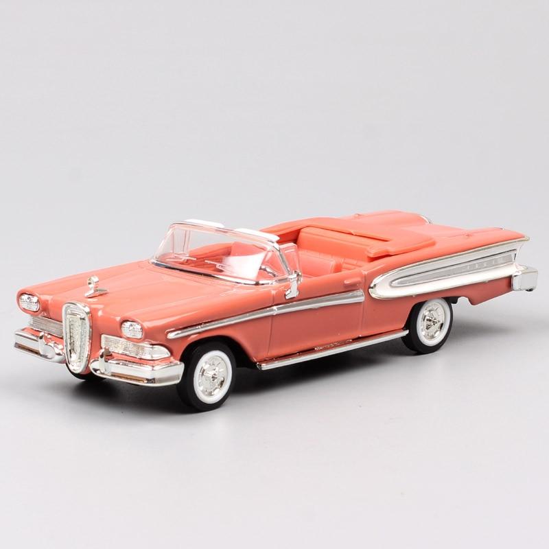 1/43 весы бренд классический ford 1958 Edsel цитирование трансформируемый Pacer автомобильные миниатюры хобби литые Автомобили Модель автомобиля игр...