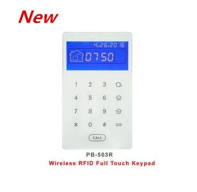 Беспроводной сенсорный экран Focus 433 МГц 868 МГц, rfid-клавиатура, устройство для демонтажа сигнализации с помощью rfid-меток, клавиатуры, встроенный литиевый аккумулятор