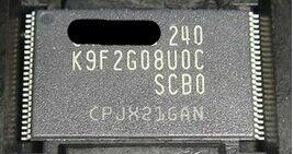 10 قطعة/الوحدة جديد K9F2G08U0C-SCB0 K9F2G08U0C