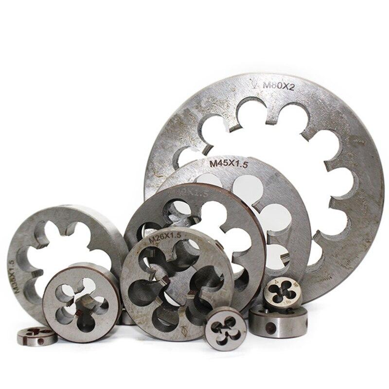 1 шт. M31 M32 M33 M34 M35 M36X3mm 2 мм 1,5 мм 1 мм Метрическая матрица Мини HSS правая рука шаг круглая нить инструменты для штамповки токарный станок инженерный инструмент
