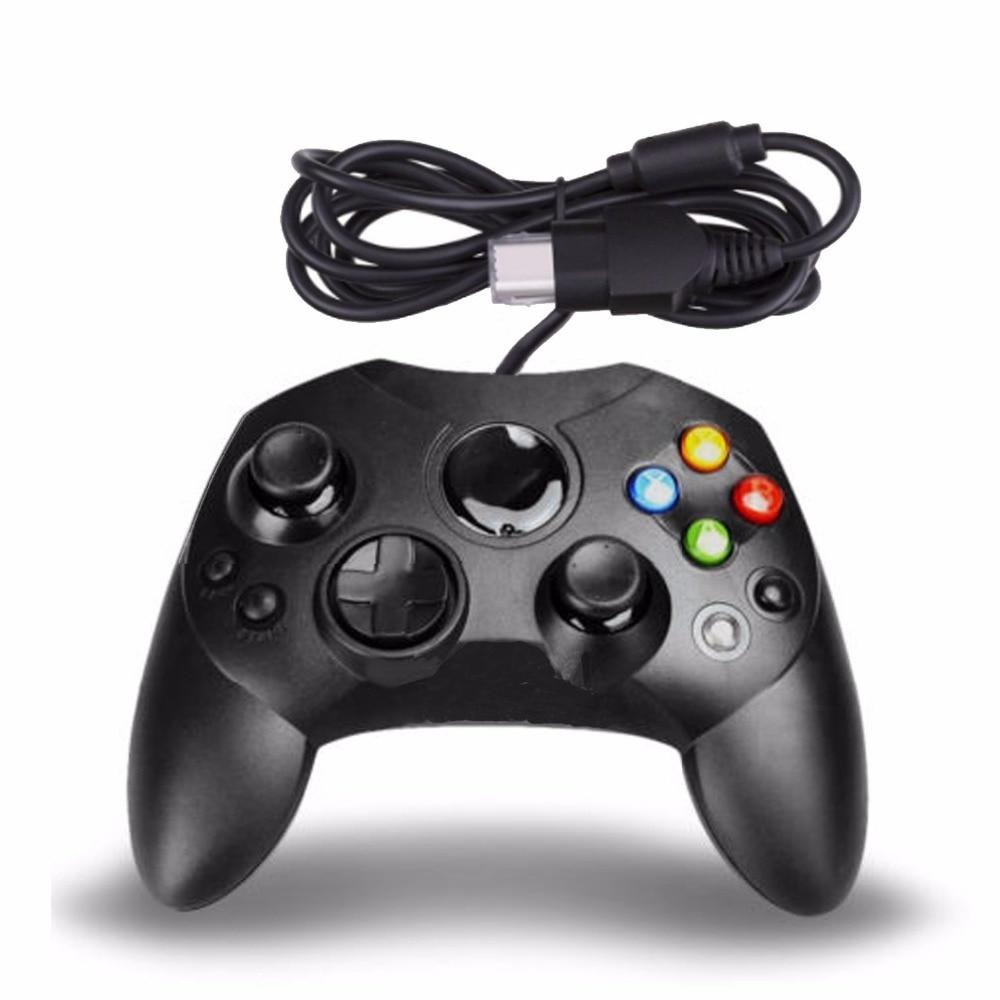 Nuevo controlador cableado tipo S 2A para Microsoft Old Generation para consola Xbox Video Gamepads Cable de 6 pies