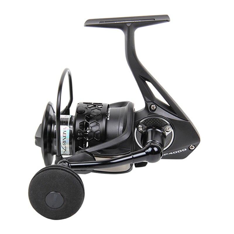 Tsurinoya TSP4000 5000 5.2:1 12kg Drag Spinning Fishing Reel 12BB Spinning Ocean Boat Rock Lure Wheel Saltwater And Freshwater enlarge