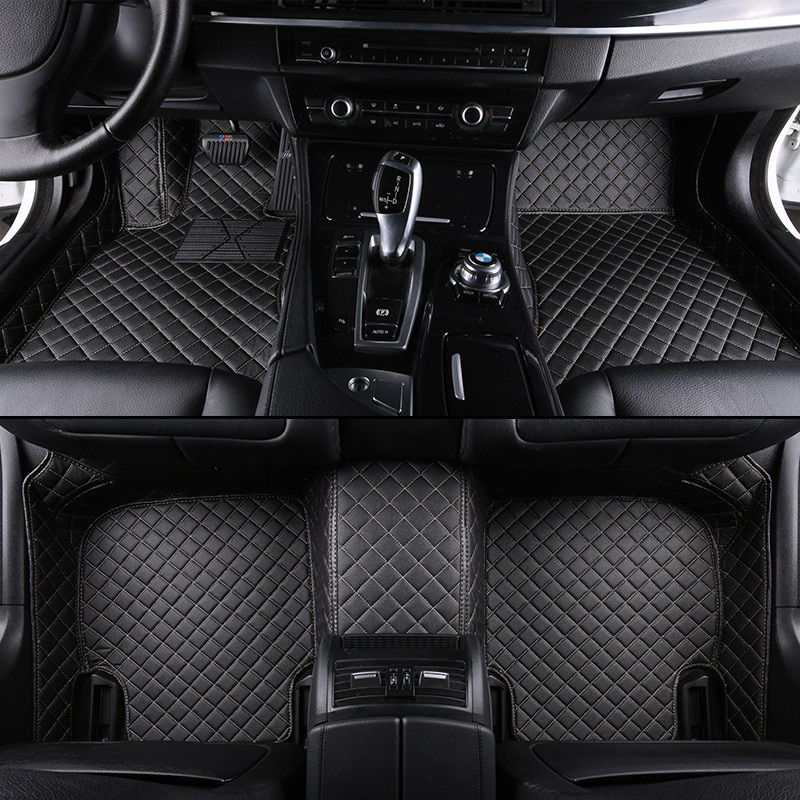 Kalaisike coche personalizado alfombras de piso para Mazda todos los modelos mazda...