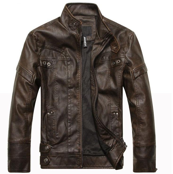Новое поступление, брендовая кожаная мотоциклетная куртка, Мужская кожаная куртка, куртки, кожаная куртка для мужчин, мужские кожаные куртк...