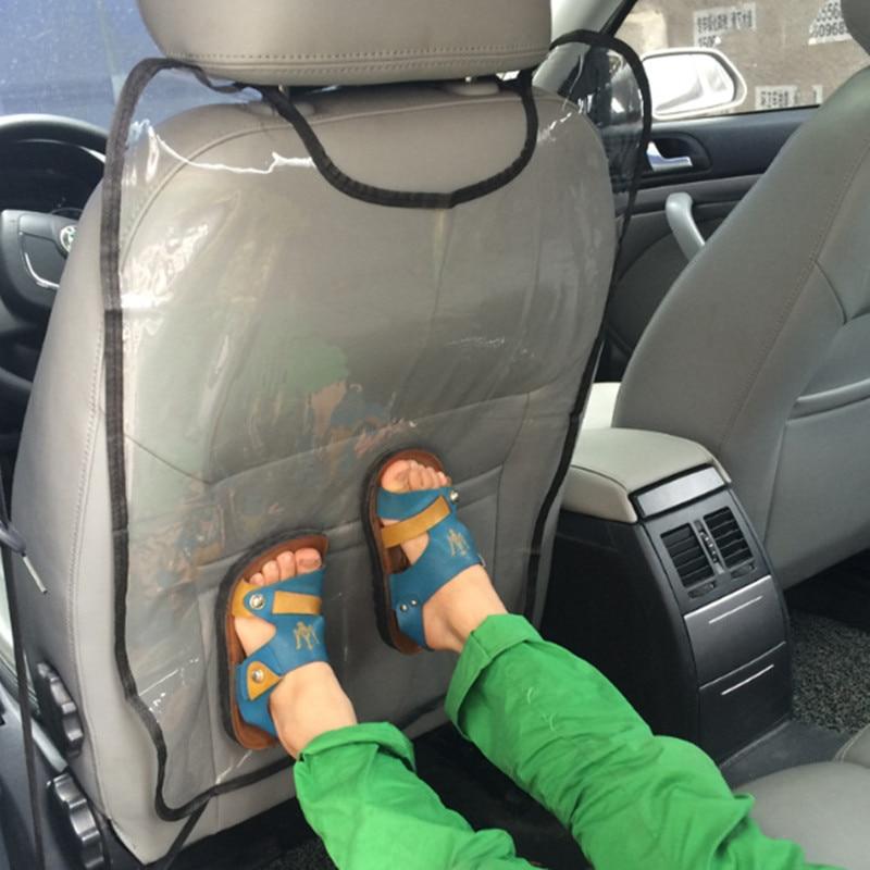 Assento de carro de Volta Protetor Tampa Crianças Mat Bebê Chutar A Partir para Mitsubishi Asx Outlander Lancer EX Pajero Evolution Eclipse Grandi