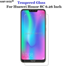 For Huawei Honor 8C Tempered Glass 9H 2.5D Premium Phone Screen Protector Film For Huawei Honor Play