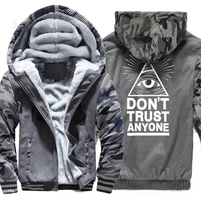 DON'T TRUST ANYNOE Illuminati All Seeing Eye Print Raglan Hoodies Men 2019 New Fashion Hip Hop Streetwear Sweatshirts Men Jacket