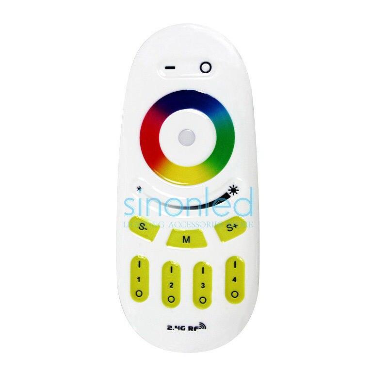 2.4g 4 zona grupo rgbw rgb sem fio rf toque remoto 2.4ghz para led luz de tira inteligente rgbw/rgb lâmpada/painel