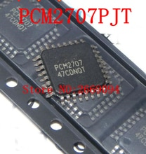 2 قطع شحن مجاني PCM2707PJT PCM2707 معالجة الصوت ic qfp32 جديدة الأصلي