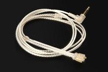 Câble Audio de mise à niveau plaqué argent OCC pour UE TF10 TF15 5PRO SF3 TF5 10pro SF5 Pro Super. fi 3 studio 5EB ePro Triple. fi