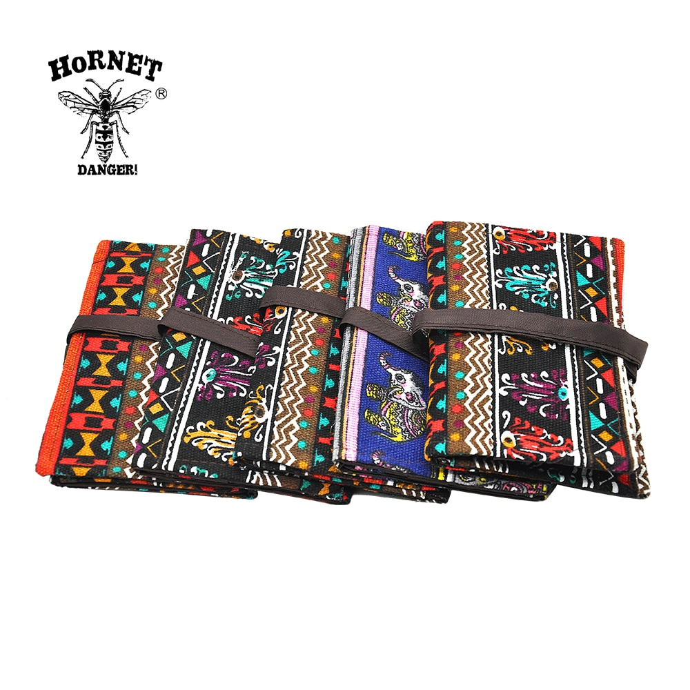 Bolsa de tabaco para cigarrillos Portátil Bolsa de almacenamiento de papel rodante bolsa de tabaco soporte de papel accesorios para fumar