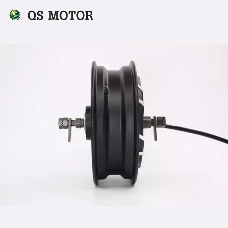 Powerful QS Motor 12inch 10KW 260 Brushless DC Bike Scooter Wheel Hub Motor enlarge