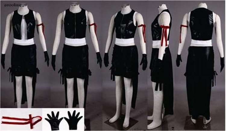 Anime Final Fantasy VII 7 Tifa Lockhart Cosplay disfraz Halloween ropa personalizada cualquier tamaño nuevo