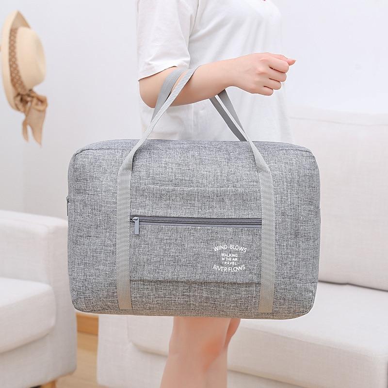 High Quality Waterproof Oxford Travel Bags Women Men Large Duffle Bag Travel Organizer Luggage bags Packing Cubes Weekend Bag