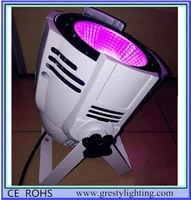 best seller hot 2016 dmx 200w led rgbwauv cob par can stage light