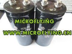 2pcs screw big capacitor 25VDC68000MFD 68000MFD25VDC dimensions 65X105
