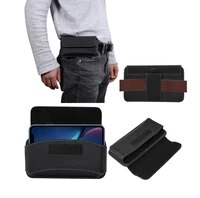 belt clip leather case for huawei mate 20xhonor 8x maxnote10note8 universal phone pouch 6 4 6 9 inch oxford cloth waist bag