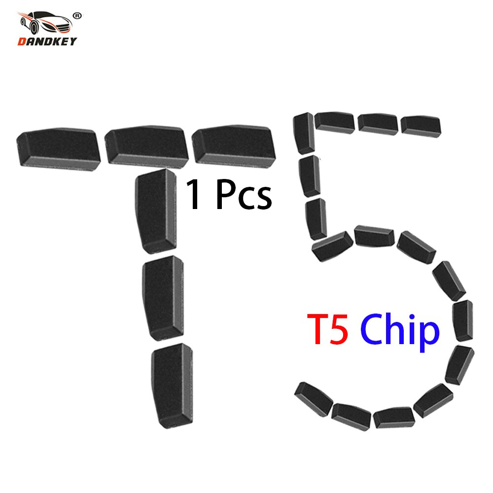 Dandkey For Car Key Locksmith Tool ID T5 Transponder Chip Carbon Original New Blank For 11 12 13 Car Key Chip T5 ID20 Ceramic