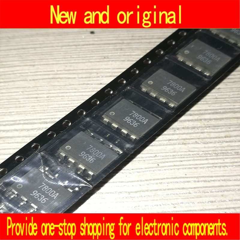 Nuevo y original hcpl-7800a hcpl7800a A7800A HCPL-7800A-500E 10 unids/lote
