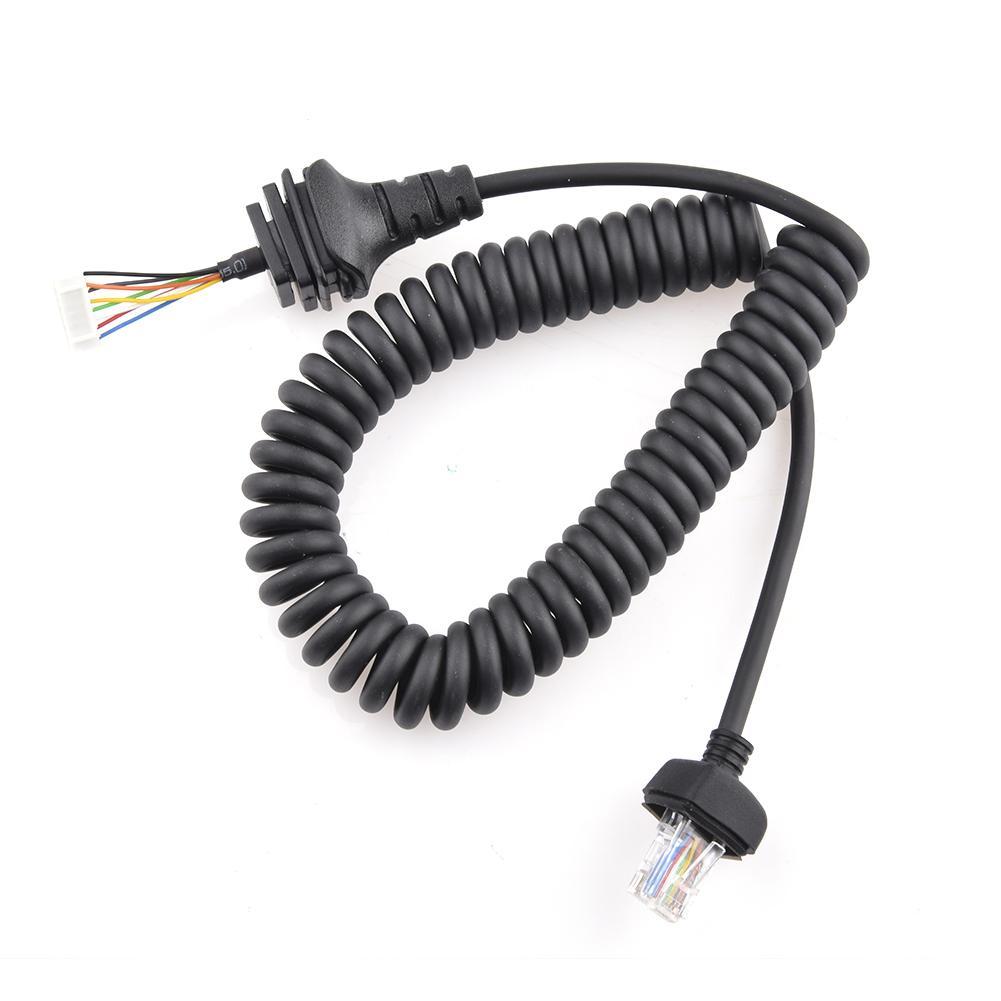 Микрофонный кабель, портативная рация, ручной микрофонный кабель, микрофонный кабель для ICOM, радио, IC-3600F1 IC-7000