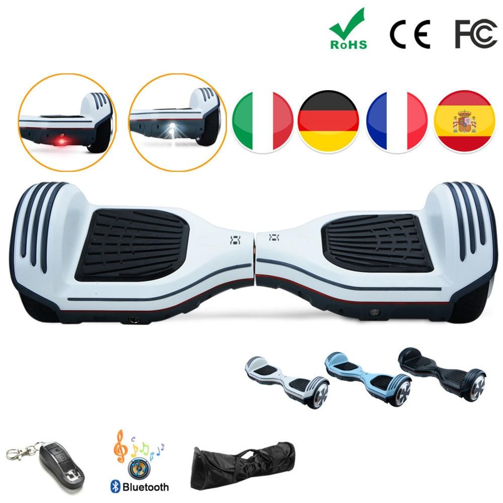 Hoverboard eléctrico para adultos, Hoverboard de 6,5 pulgadas, Patin eléctrico, Scooter Eléctrico