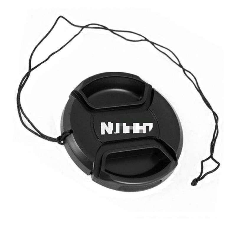 50 unids/lote tapa de lente para Nikon tapa de lente frontal tapa a presión 49mm 52mm 55mm 58mm 62mm 72mm 77mm